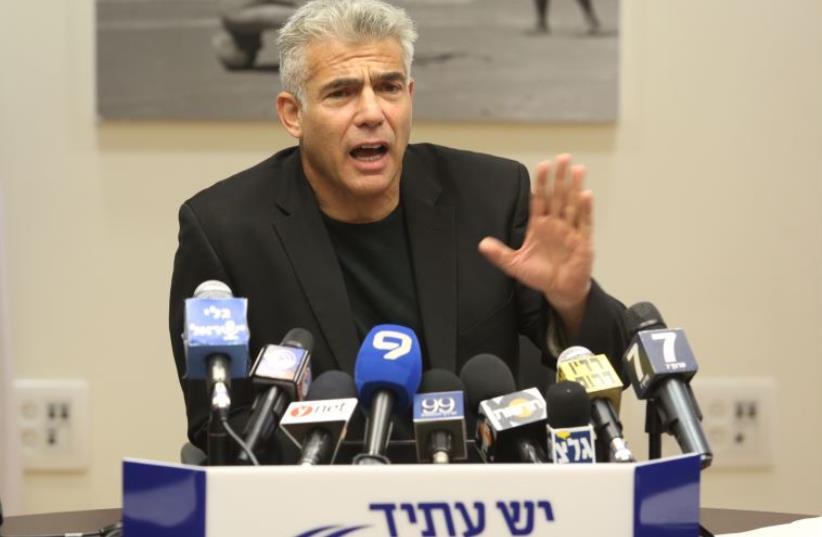 Yair Lapid (photo credit: MARC ISRAEL SELLEM/THE JERUSALEM POST)