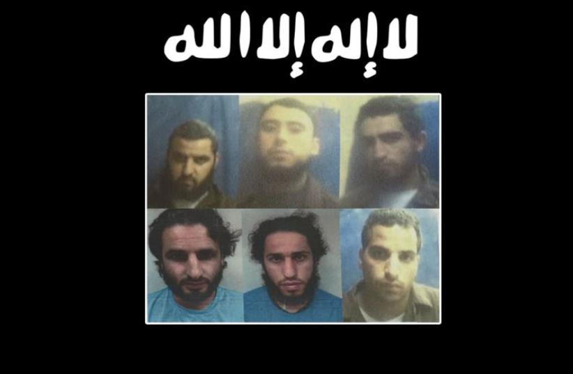 ISIS cell arrested by Shin Bet. (photo credit: SHIN BET)