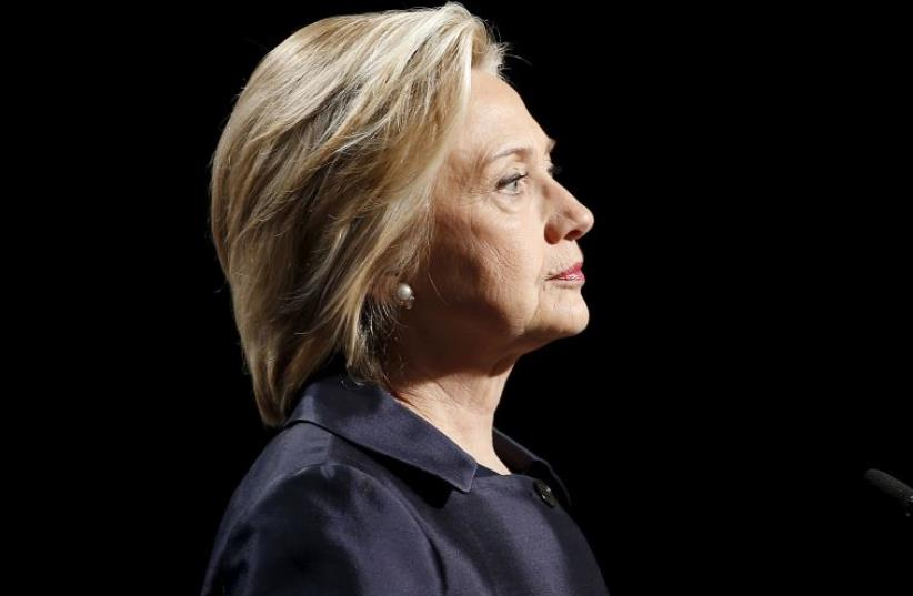 Hillary Clinton (photo credit: REUTERS)