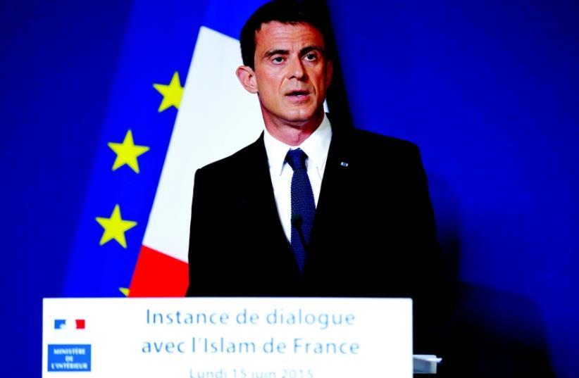 Manuel Valls (photo credit: REUTERS)