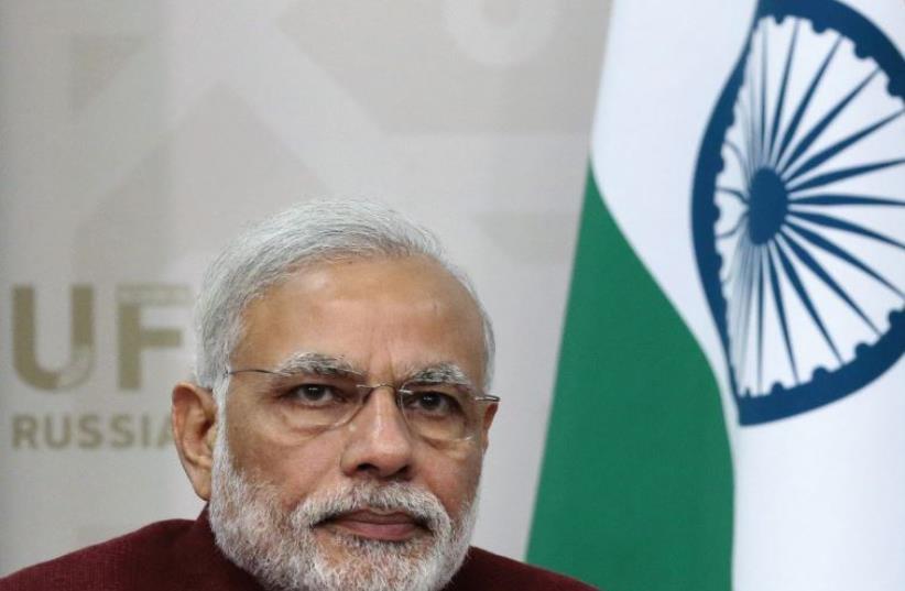 Indian Prime Minister Narendra Modi (photo credit: REUTERS)