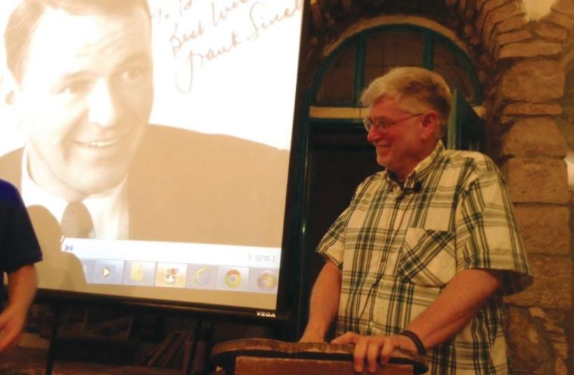 Professor Shalom Goldman on Frank Sinatra's connection with Israel (photo credit: ESTER ECKHAUS)