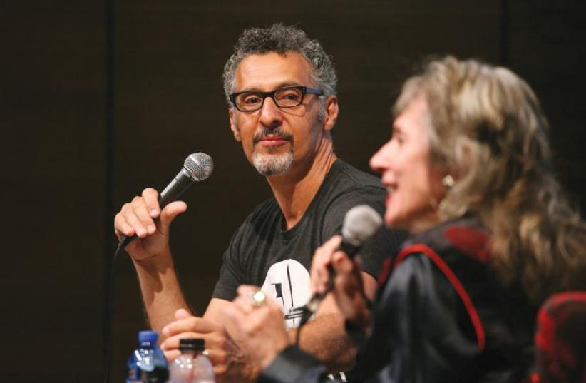 Actor John Turturro (photo credit: NIR SHAANANI)