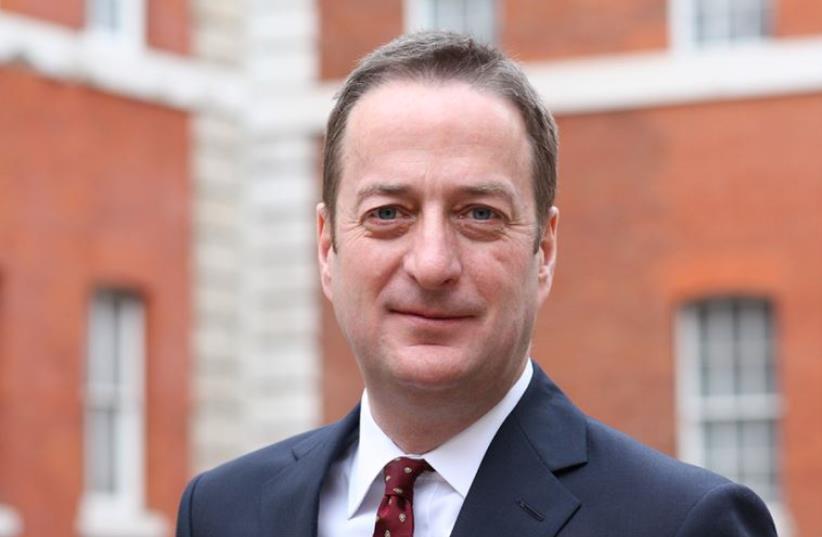 Britain's new ambassador to Israel, David Quarrey (photo credit: BRITISH EMBASSY IN ISRAEL)