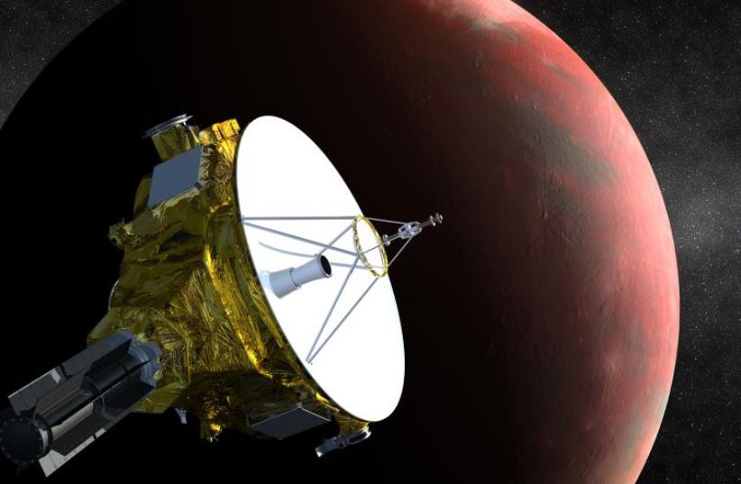 An artist's impression of NASA's New Horizons spacecraft (photo credit: REUTERS)
