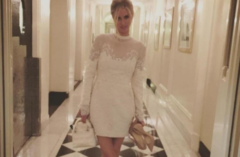 Nicky Hilton on her wedding day (photo credit: INSTAGRAM SCREENSHOT)