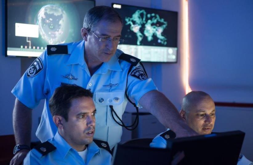 Police cyber crime unit (photo credit: POLICE SPOKESPERSON'S UNIT)