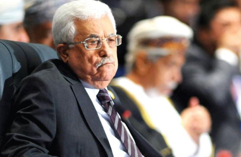 Mahmoud Abbas (photo credit: REUTERS)