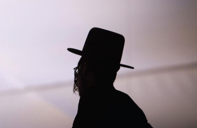 Hassidic Jew (photo credit: ANDREW KELLY / REUTERS)