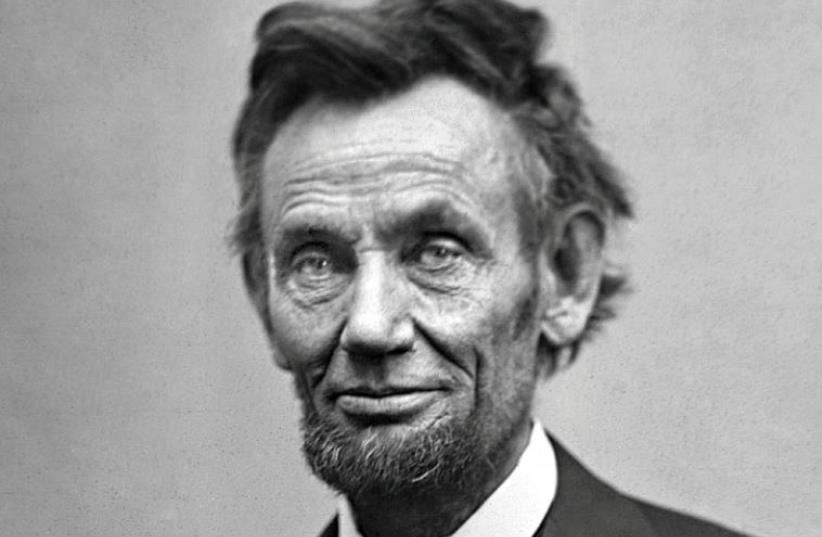 Abraham Lincoln (photo credit: Wikimedia Commons)