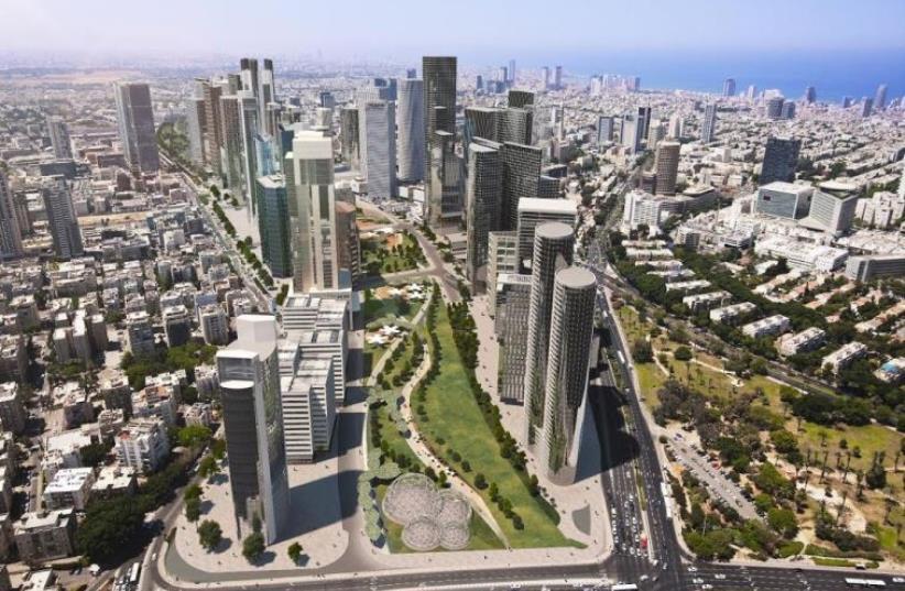 Tel Aviv's Ayalon Highway (photo credit: VIEWPOINT)
