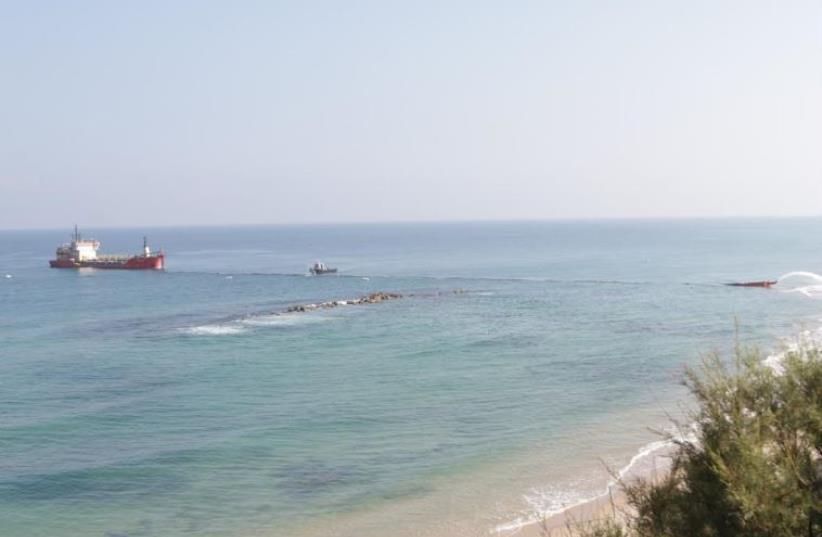 Ashkelon beach. (photo credit: BENNY WEINER)