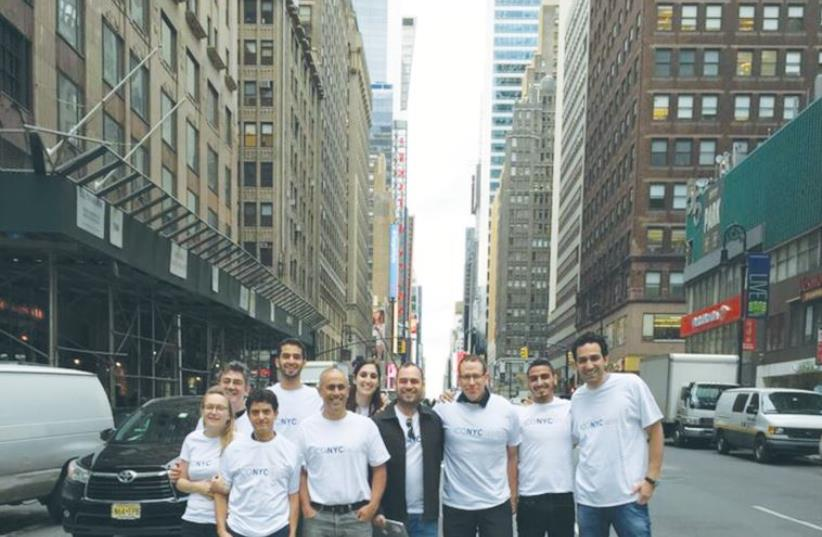 THE COMPANIES are required to send part of their team to New York at least once a month for a week during their six-month program. (photo credit: ADI ASHKENAZI)