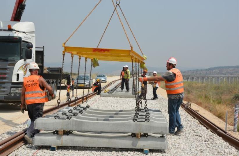 Negev Railway  (photo credit: COURTESY ISRAEL RAILWAYS)