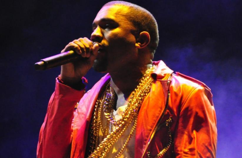Kanye West performing at Lollapalooza  (photo credit: RODRIGOFERRARI/WIKIMEDIA COMMONS)