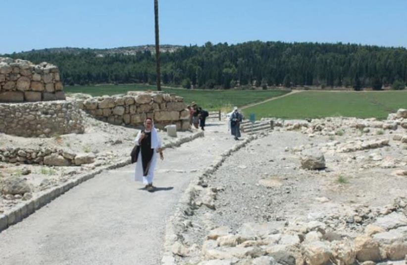 The journey through Megiddo (photo credit: BENJAMIN GLATT)