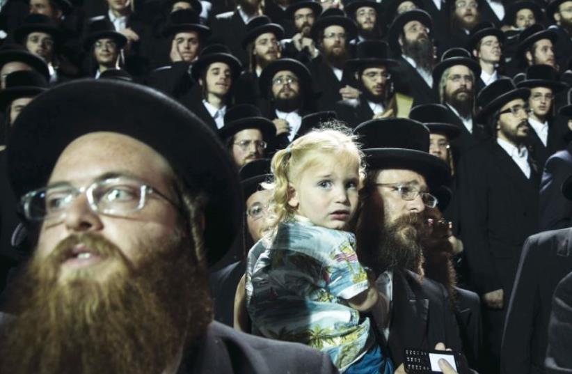 US Orthodoxy judaism (photo credit: REUTERS)