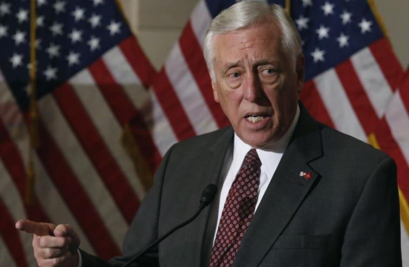 US Representative Steny Hoyer (photo credit: REUTERS)