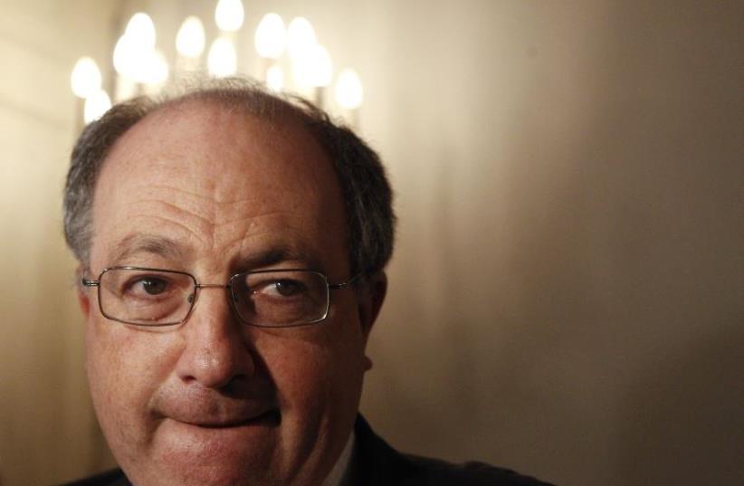 Ariel Muzicant, president of the Viennese Jewish community (photo credit: REUTERS)