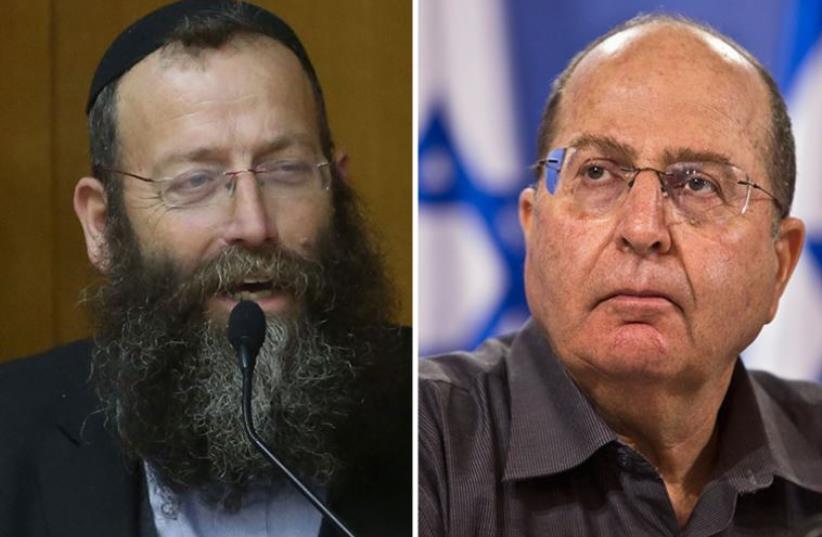 Marzel and Yaalon (photo credit: MARC ISRAEL SELLEM/THE JERUSALEM POST,REUTERS)
