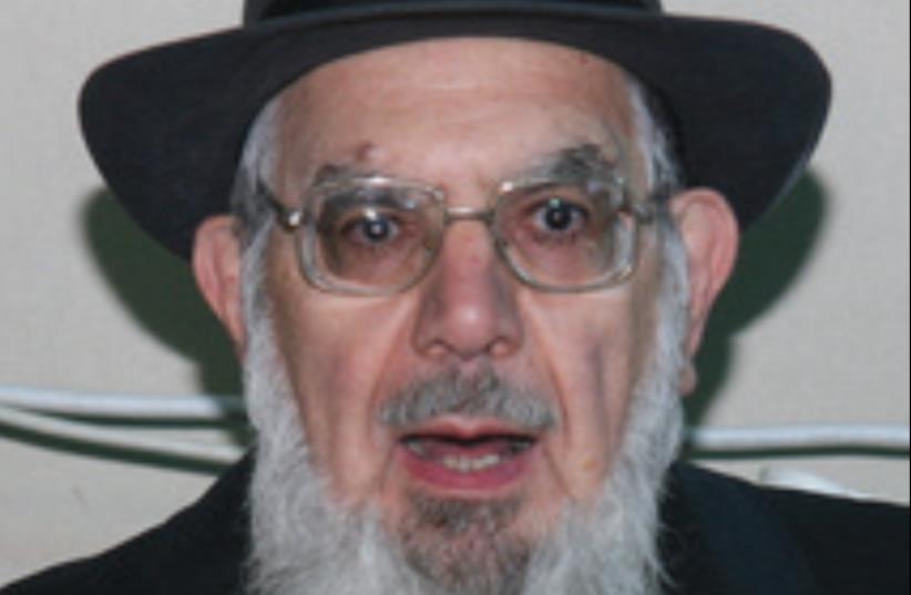 Rabbi Nahum Rabinovitch (photo credit: Courtesy)