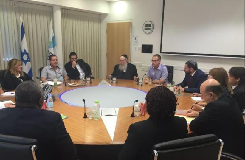 Health Ministry officials from Israel and the Ivory Coast meet in Jerusalem (photo credit: Courtesy)