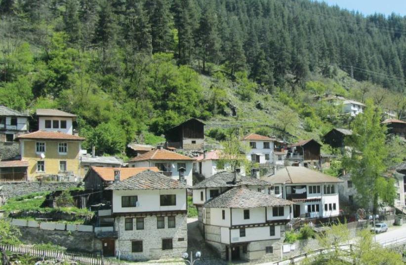The picturesque town of Shiroka Laka, near the Greek border (photo credit: ELLIS SHUMAN)