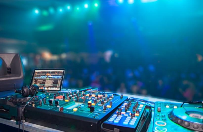 DJ stand (illustrative) (photo credit: INGIMAGE)