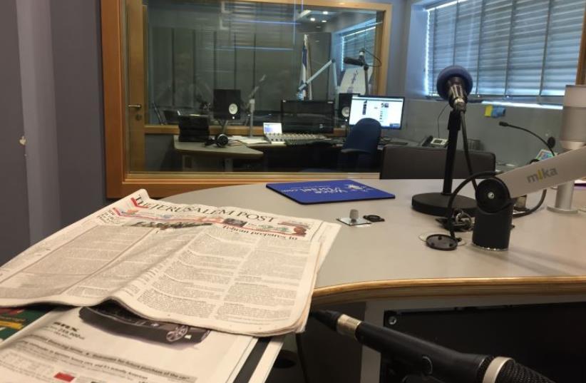 Voice of Israel radio (photo credit: SETH J. FRANTZMAN)