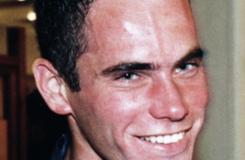 An undated handout picture released July 15, 2008 shows Israeli reserve soldier Eldad Regev (photo credit: REUTERS)