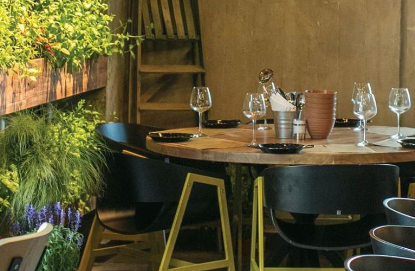 Kitchen Garden restaurant in Hod Hasharon (photo credit: PR)