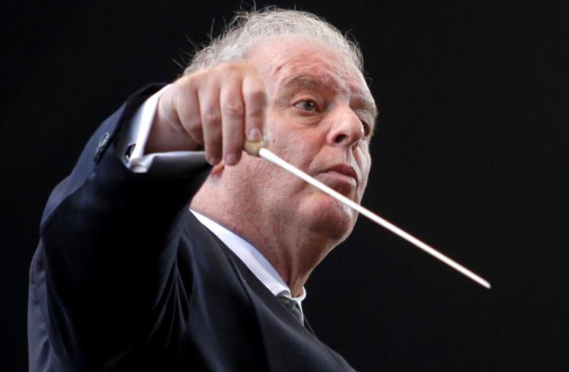 Israeli-Argentine conductor Daniel Barenboim (photo credit: REUTERS)
