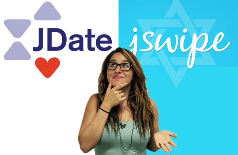 JDate vs JSwipe (photo credit: JDATE, JSWIPE, JPOST STAFF)