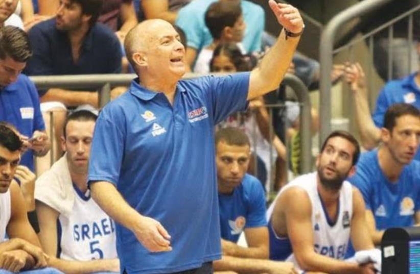 Israel national team coach Erez Edelstein (photo credit: ADI AVISHAI)