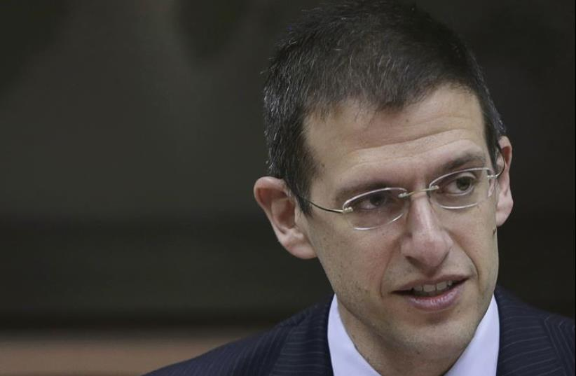 Adam Szubin, the acting undersecretary of treasury for terrorism and financial fntelligence  (photo credit: REUTERS)