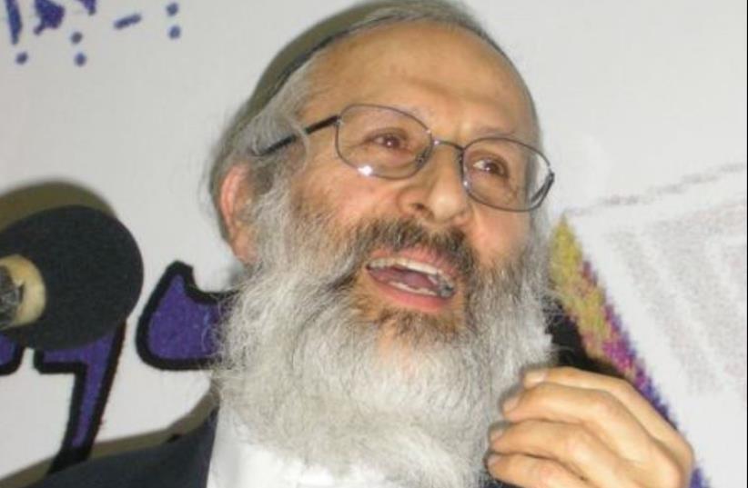 Rabbi Shlomo Aviner (photo credit: Wikimedia Commons)