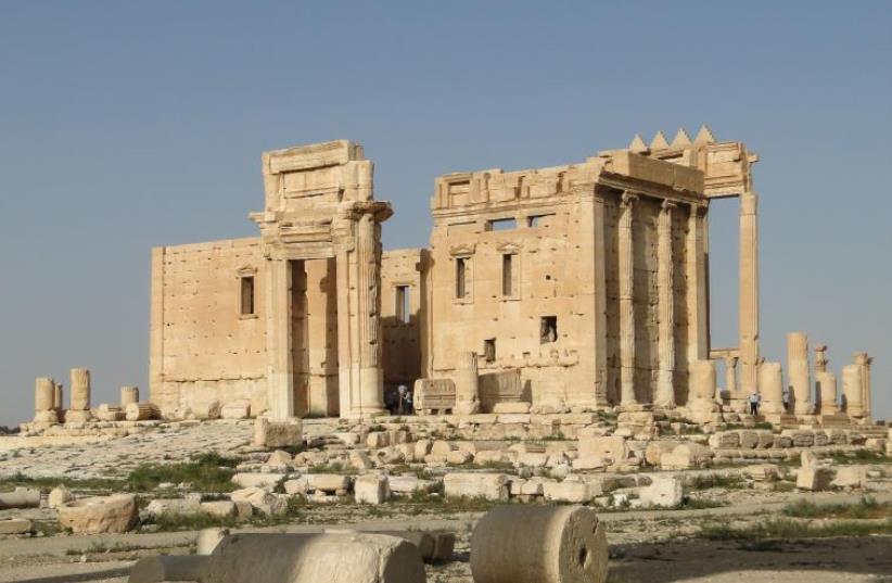 Temple of Bel, Palmyra, Syria (photo credit: BERNARD GAGNON- WIKIMEDIA)