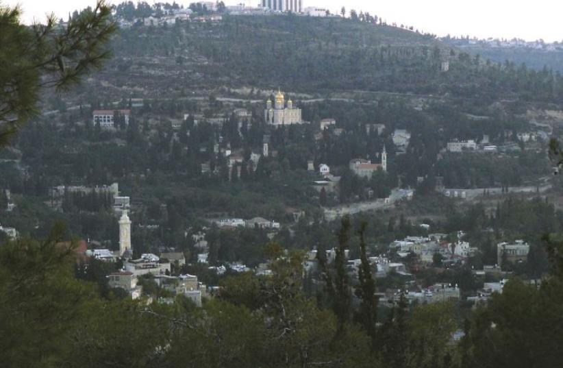 Church tradition holds that John was born in Ein Karem (photo credit: DAVID SMITH)