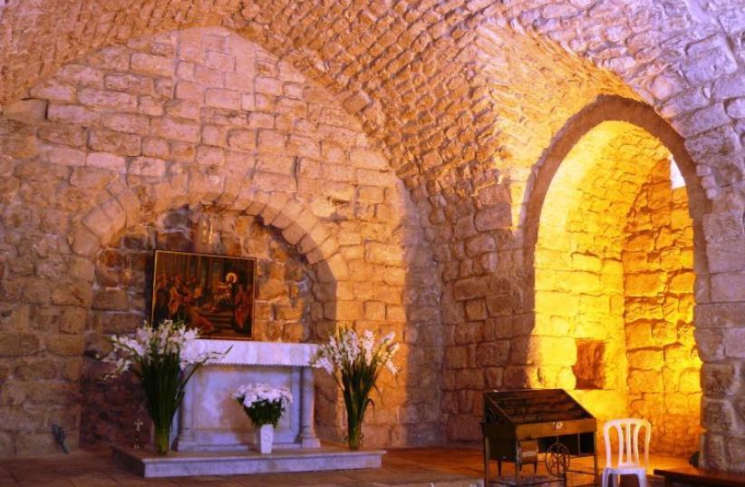 The Synagogue Church (photo credit: DAVID SMITH)