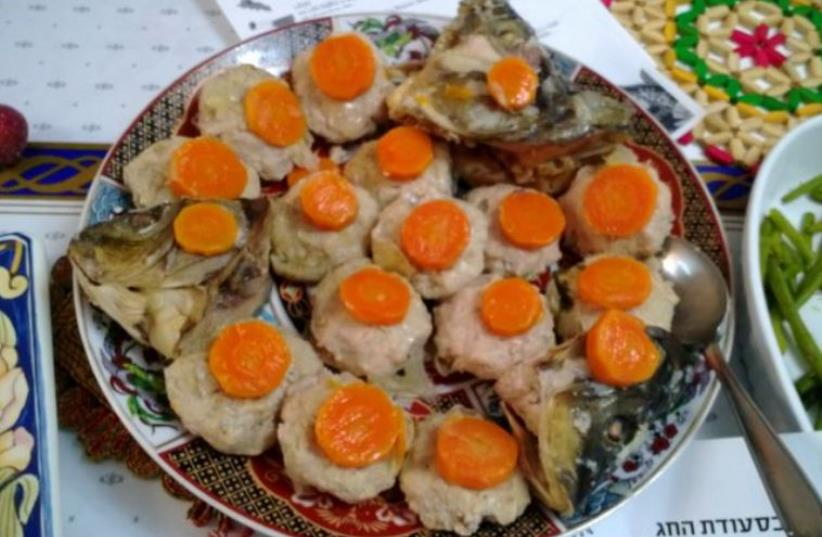 Gefilte fish (photo credit: OVEDC / WIKIMEDIA COMMONS)