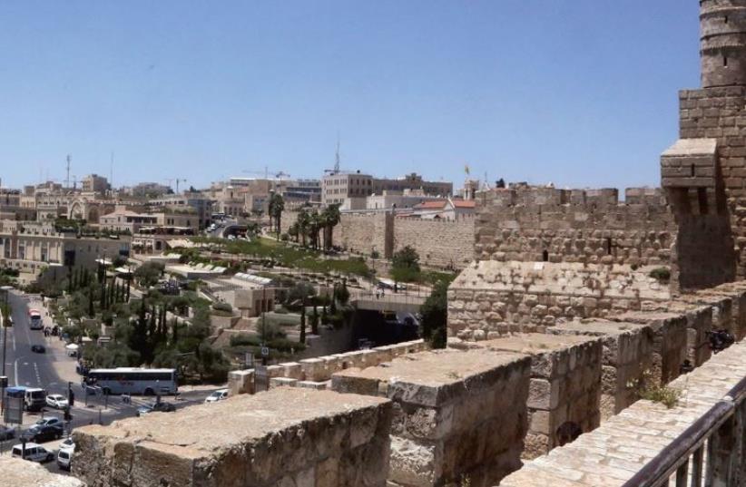 Jerusalem panorama, from David's Citadel (photo credit: MARC ISRAEL SELLEM/THE JERUSALEM POST)
