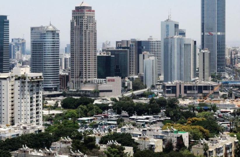 Tel Aviv panorama (photo credit: MARC ISRAEL SELLEM/THE JERUSALEM POST)