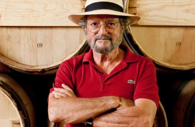 Eli Ben-Zaken, founder and owner of the Castel winery, Moshav Ramat Raziel (photo credit: COURTESY CASTEL WINERY)