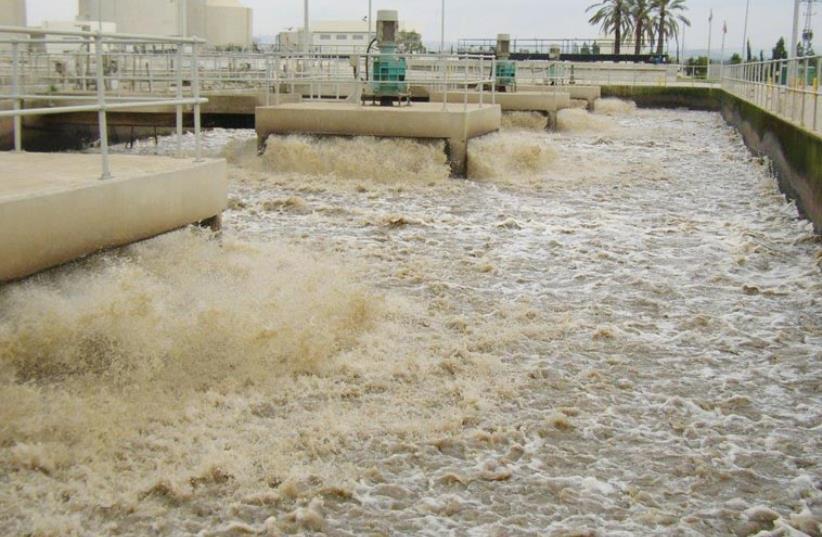 Water desalination in Israel (photo credit: URI SHORE)