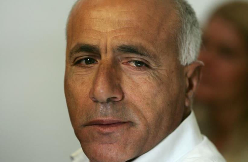 Mordechai Vanunu appears in the magistrate's court in Jerusalem (photo credit: REUTERS)