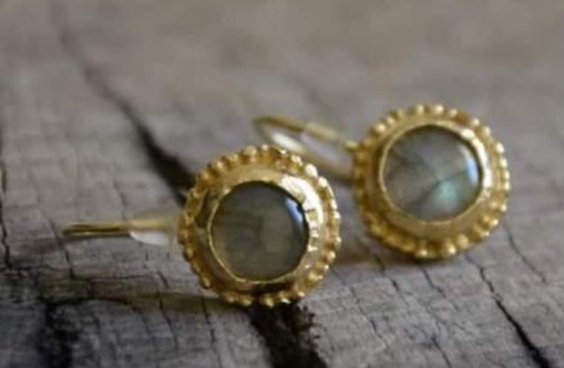 Lod Night Market products, earrings (photo credit: LOD NIGHT MARKET)