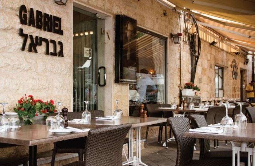 Gabriel restaurant (photo credit: PR)