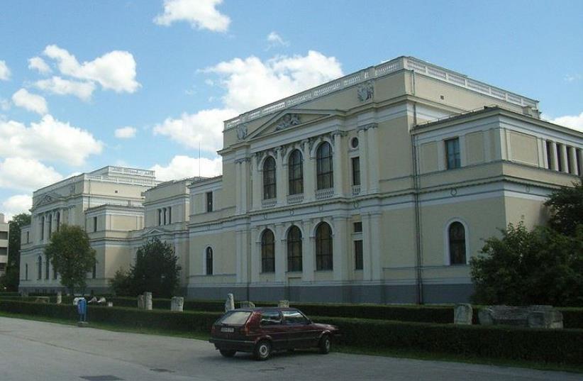 Bosnia's National Museum in Sarajevo (photo credit: Wikimedia Commons)