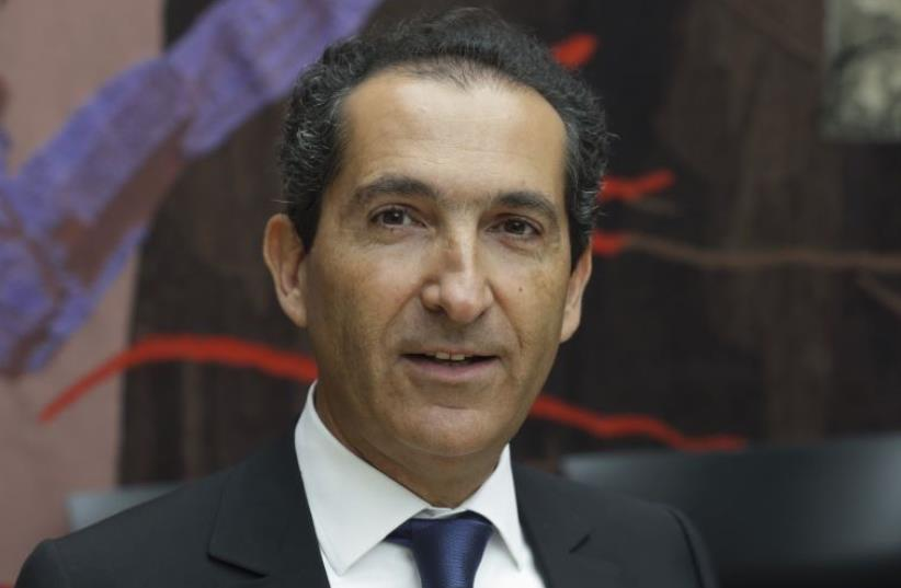 Patrick Drahi, May 2015 (photo credit: REUTERS)