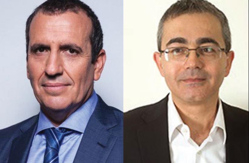 Eyal Waldman (left) and Yossi Hajaj (photo credit: Courtesy)